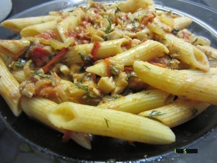 Рыбный соус для макарон